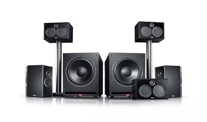"Teufel SYSTEM 6 THX ""5.2-SET""音响系统介绍"